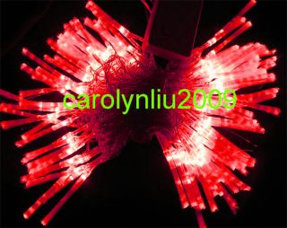 10M LED Red Optic Fiber Party Favor String Light Christmas String Outdoor