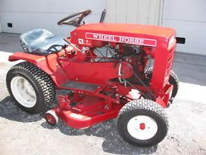 Wheel Horse Lawn Mower Garden Tractor 5 Speed