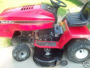"Yard Pro AYP 42 "" 19HP Briggs Stratton I C Lawn Tractor Riding Mower"