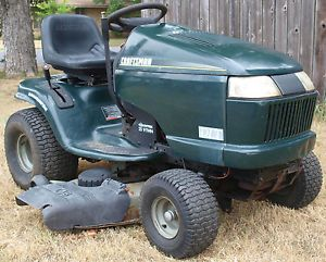 "2000  Craftsman DLT 25 HP Briggs 46"" Cut Lawn Tractor Riding Mower"