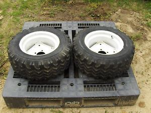 International Cub Cadet 100 Lawn Garden Tractor Rear Tires and Wheels