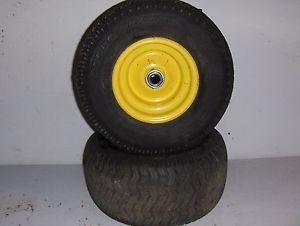 John Deere STX38 Lawn Garden Tractor 2 13 x 6 50 6 Front Tires and Wheels