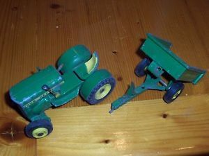 John Deere 110 Garden Tractor Lawn Mower Trailer Farm Toy Vehicle Custom Parts