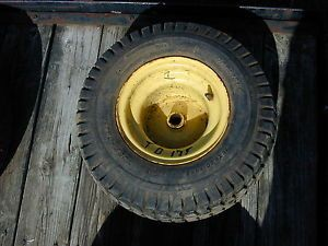 1 John Deere 175 Riding Lawn Mower Rear Tire Wheel 18 x 8 50 8NHS