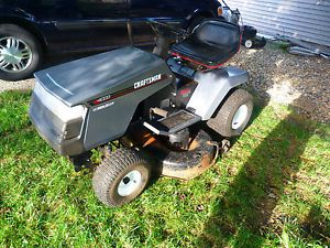 "Craftsman LT4000 12 5 HP 6 Speed 42"" Cut Riding Lawn Mower Garden Tractor"