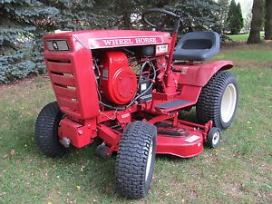 "1974 Wheel Horse B 80 Lawn Garden Tractor with 36"" Mower Deck Nice"