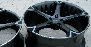 "Giovanna Dalar 5V 22"" Black Rims Wheels CL600 Stag"