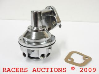 BBC Big Block Chevy HV Chrome Fuel Pump 396 427 454