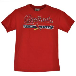 MLB St Louis Cardinals Red Tshirt Adult Shirt Baseball Tee Cotton Size