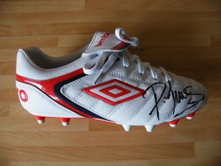 Phil Jones Genuine Hand Signed Autograph Manchester United Football Boot COA