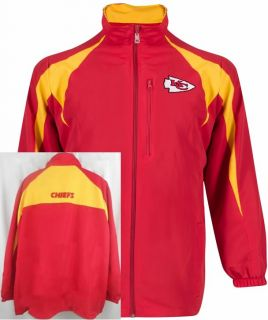 Kansas City Chiefs NFL Team Apparel Midweight Blitz Jacket Big Tall Sizes