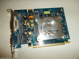 PNY NVIDIA GeForce 6600 PCIe x16 Graphics Video Card DVI VGA 256 MB VCG66256XPB 0751492274744