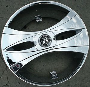 "Dub Deux Wang S149 26"" Chrome Rims Wheels El Camino rwd 26 x 9 5 5H 10"