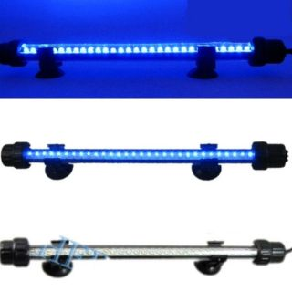 32 LED Switch Aquarium Fish Tank Bar Blue Light Lamp Waterproof Special Price