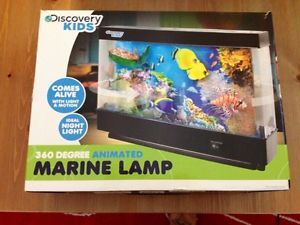 Marine Lamp Discovery Kids Moving Ocean Night Light