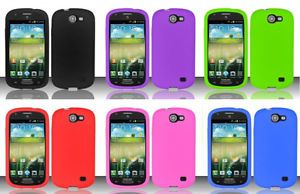 Samsung Galaxy Express SGH I437P Phone Case Silicone Skin Screen Protector