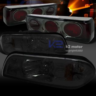 87 93 Ford Mustang Tail Lights
