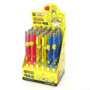 Wholesale Lot 30 Simpsons Office School Supplies Mechanical Pencils