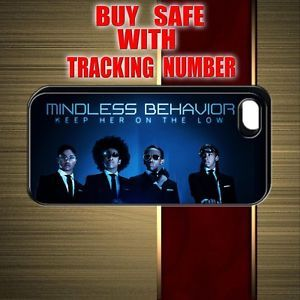 Cheap Mindless Behavior Princeton World Tour Movie Black iPhone 5 Case Cover