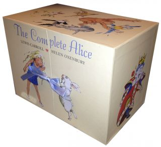 The Complete Alice Adventure in Wonderland Gift Box Set Collection 22 Books