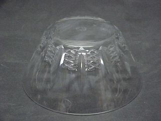 "Baccarat Clear Polished Cut Crystal Glass ""Austerlitz"" Finger Bowls 4 75"""