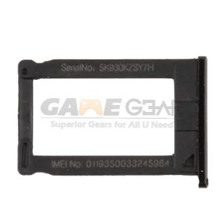 New iPhone 3 3G 3GS Sim Card Slot Tray Holder Black