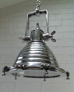 Vintage Industrial Pendant Ceiling Lamp Metal Cargo Light