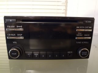 Stock Nissan Xterra Frontier Radio CD Player Stereo 2013 SiriusXM iPod 4 3""