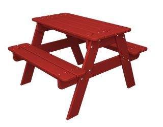 Polywood KT30 Children Kid's Picnic Table 12 Colors