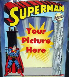 New DC Comics Superman Magnetic Photo Picture Frame Magnet Frames