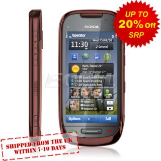 New Sim Free Unlocked Nokia C7 Brown Mobile Phone
