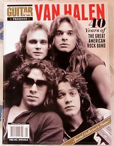 Guitar World Presents Van Halen 40 Years Great American Rock Band Special Issue