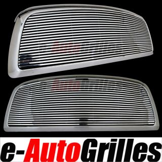 09 12 Dodge RAM 1500 8mm Billet Grille Chrome ABS Outer Shell Full Replacement