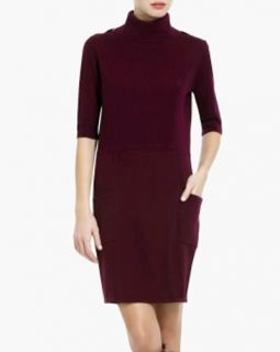 "$248 BCBG Deep Port ""Merabelle"" T Neck Knit Sweater Dress XXS"