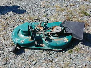 "00 Murray Riding Lawn Mower Deck 40"" Green"