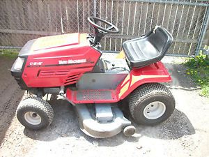 "MTD Yard Machine Riding Mower 17 H P Briggs Stratton Twin Cylinder 46"" Deck"