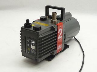 EDWARDS E2M2 1PH 1 5CFM TWO 2 DUAL STAGE ROTARY VANE MECHANICAL HIGH VACUUM PUMP