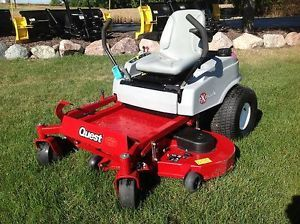 "2008 Exmark Quest 52"" Zero Turn Riding Lawn Mower"
