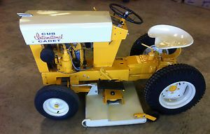 1961 Restored Cub Cadet Riding Lawn Mower