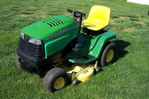 "John Deere LX 172 Riding Mower Tractor 38"" Deck Tricycler"