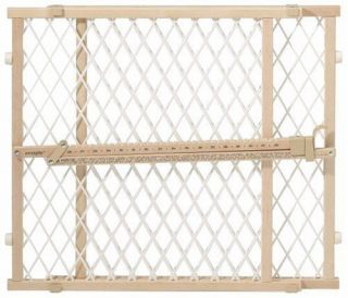 Evenflo Position Lock Wood Safety Gate Security Baby Infant Toddler Pet New