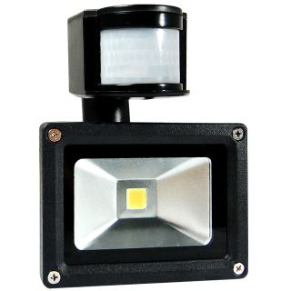 PIR Motion Human Sensor Security Wall Pure White LED Waterproof Flood Light Lamp