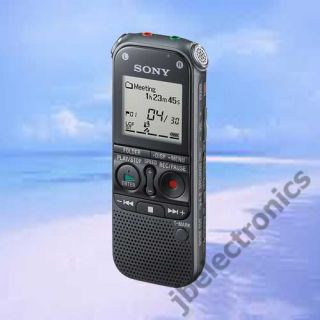 Sony ICD AX412 2GB USB Stereo Digital Voice Recorder