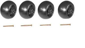 John Deere Riding Lawn Mower Deck Wheels Bolts 4 Pack M84690 Am 116299 New