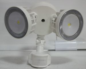 Lithonia LED Security Flood Light Outdoor with Sensor Motion Detector 5540