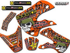 2009 2010 2011 2012 SX 50 Graphics Kit KTM SX50 50sx Decals Deco Decals Stickers
