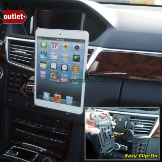 Car Truck Dash Air Vent Clip on Tablet Mount Cradle Holder for Apple iPad Mini