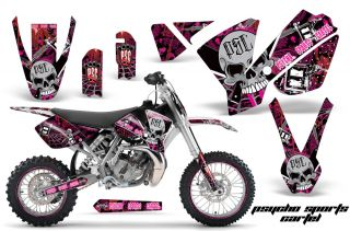 KTM SX65 Graphic Kit AMR Racing Plates Decal Sticker SX 65 Part 02 08 PSC
