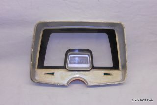 Genuine Mopar 1965 Plymouth Fury Instrument Panel Bezel