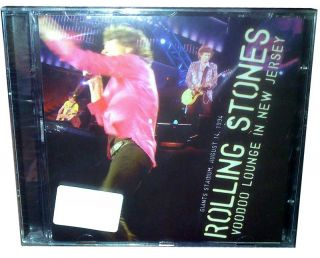 RARE Rolling Stones CD Live New Jersey 1994 Pro Recording Voodoo Lounge Tour 94